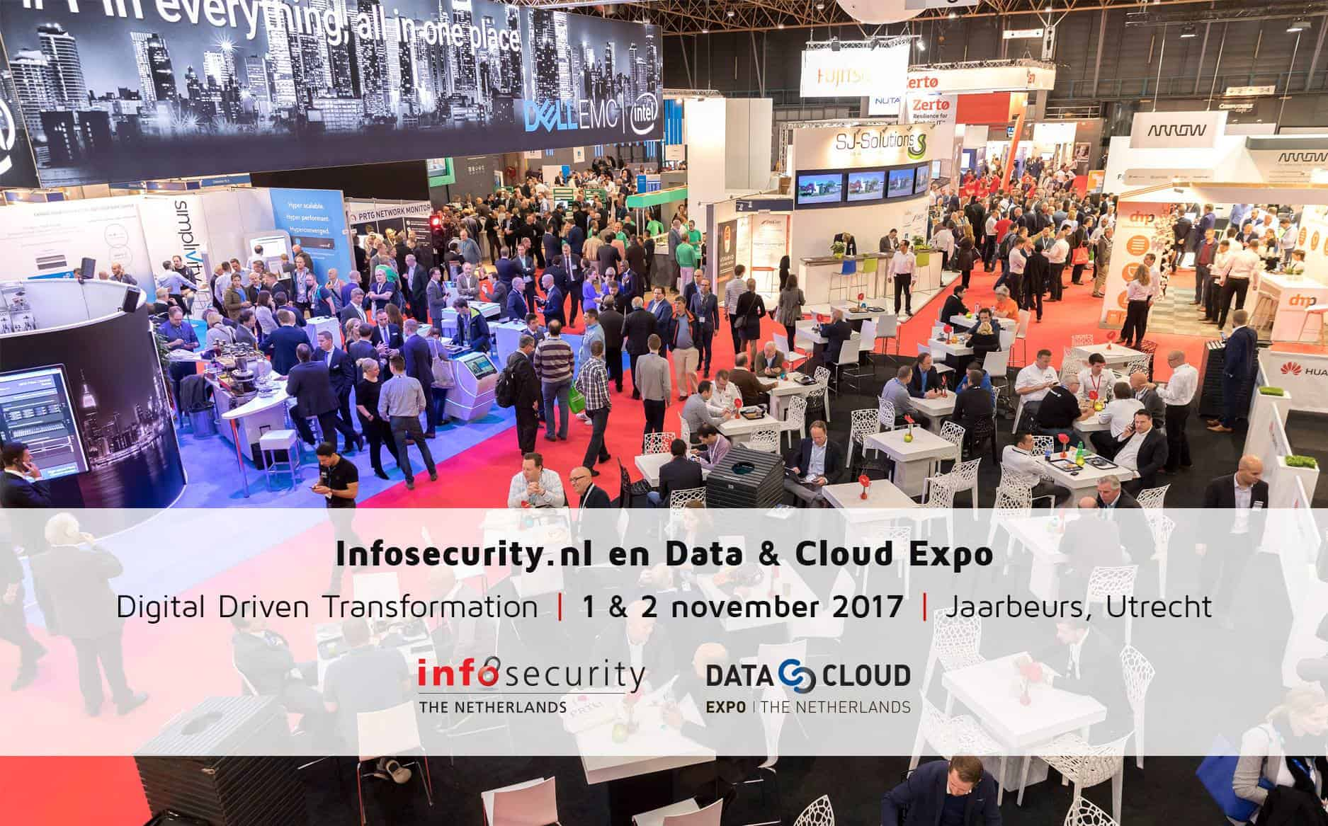 Infosecurity.nl en Data & Cloud Expo
