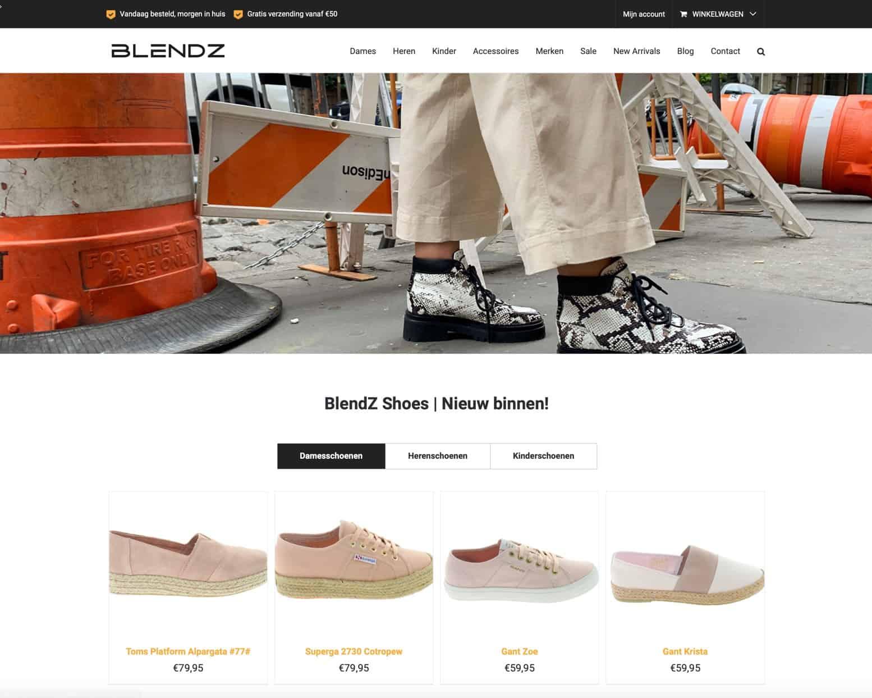 BlendZ webshop